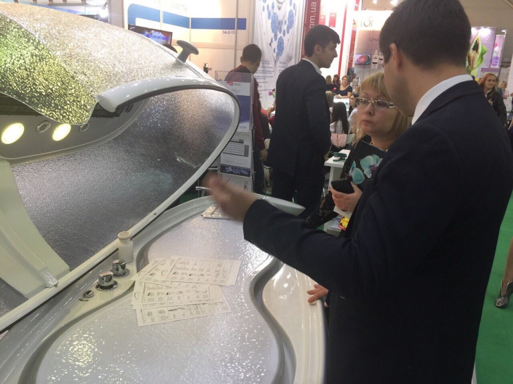 Neoqi at intercharm ukraina 2015 show