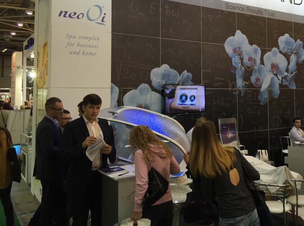 Neoqi at intercharm ukraina 2015
